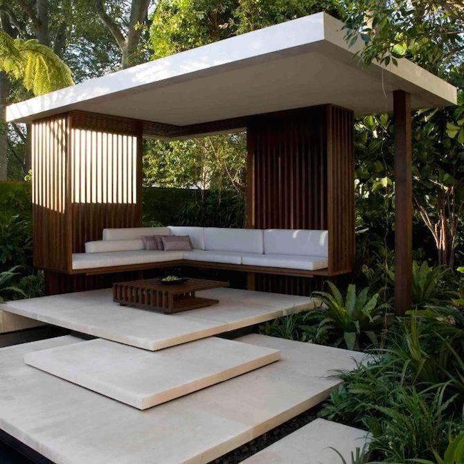 16 Best Modern Garden Design Ideas Modern Gazebo Modern