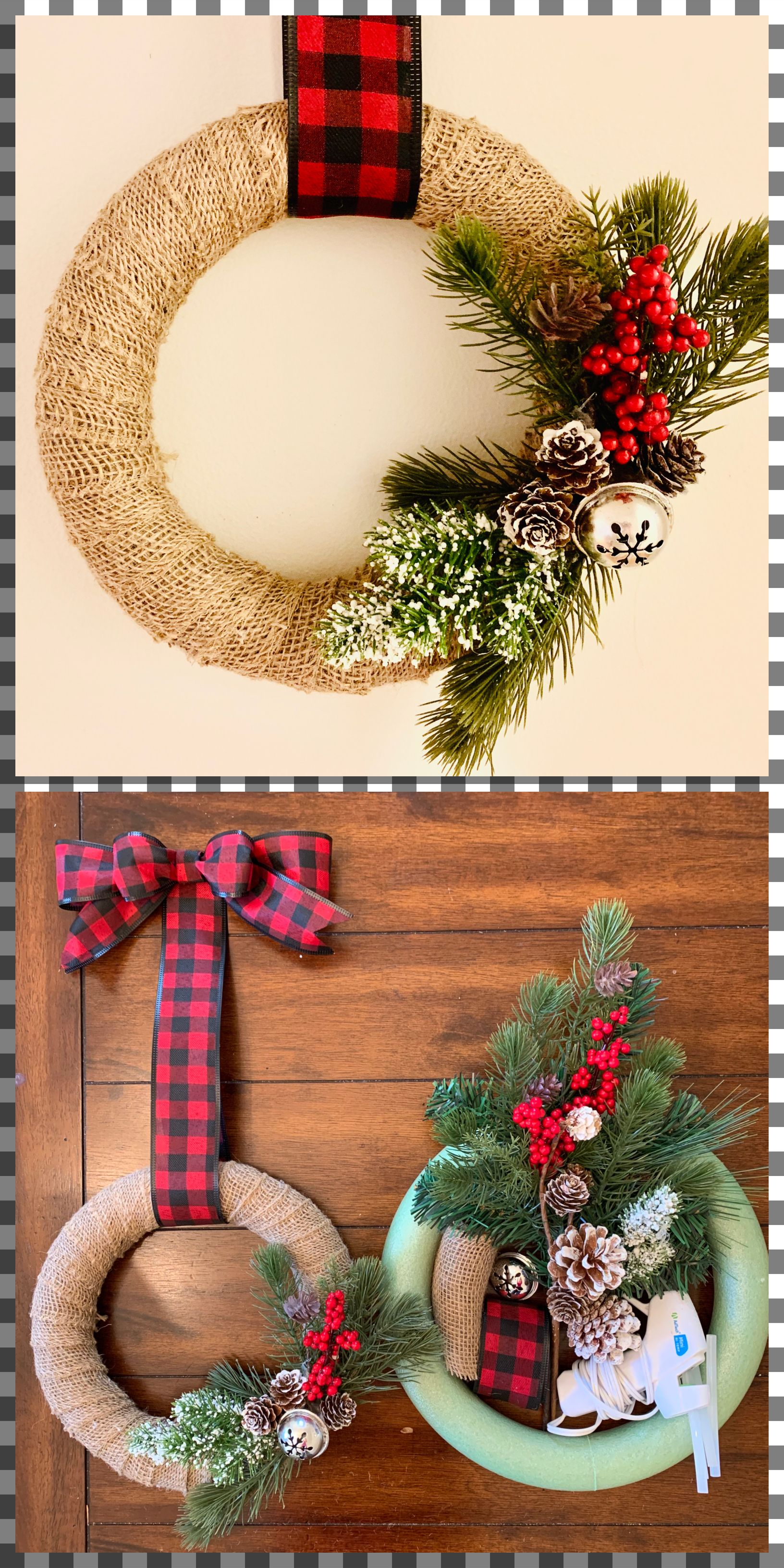 DIY Christmas wreath 30 supplies Christmas wreaths diy