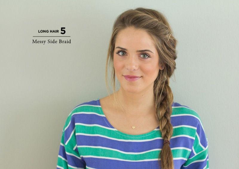 How To Style Long Hair 10 Easy Ways To Style Hair  Casual Hair Hair Dos And Hair Style