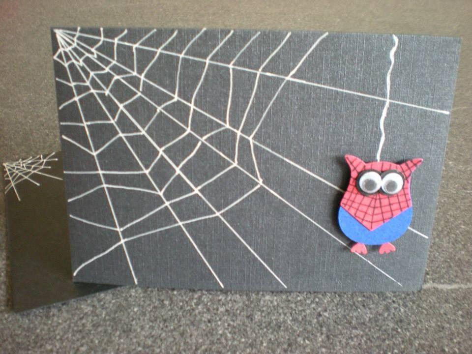SU Owl Punch - Spider Owl Card