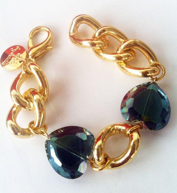 heart bracelet, $38