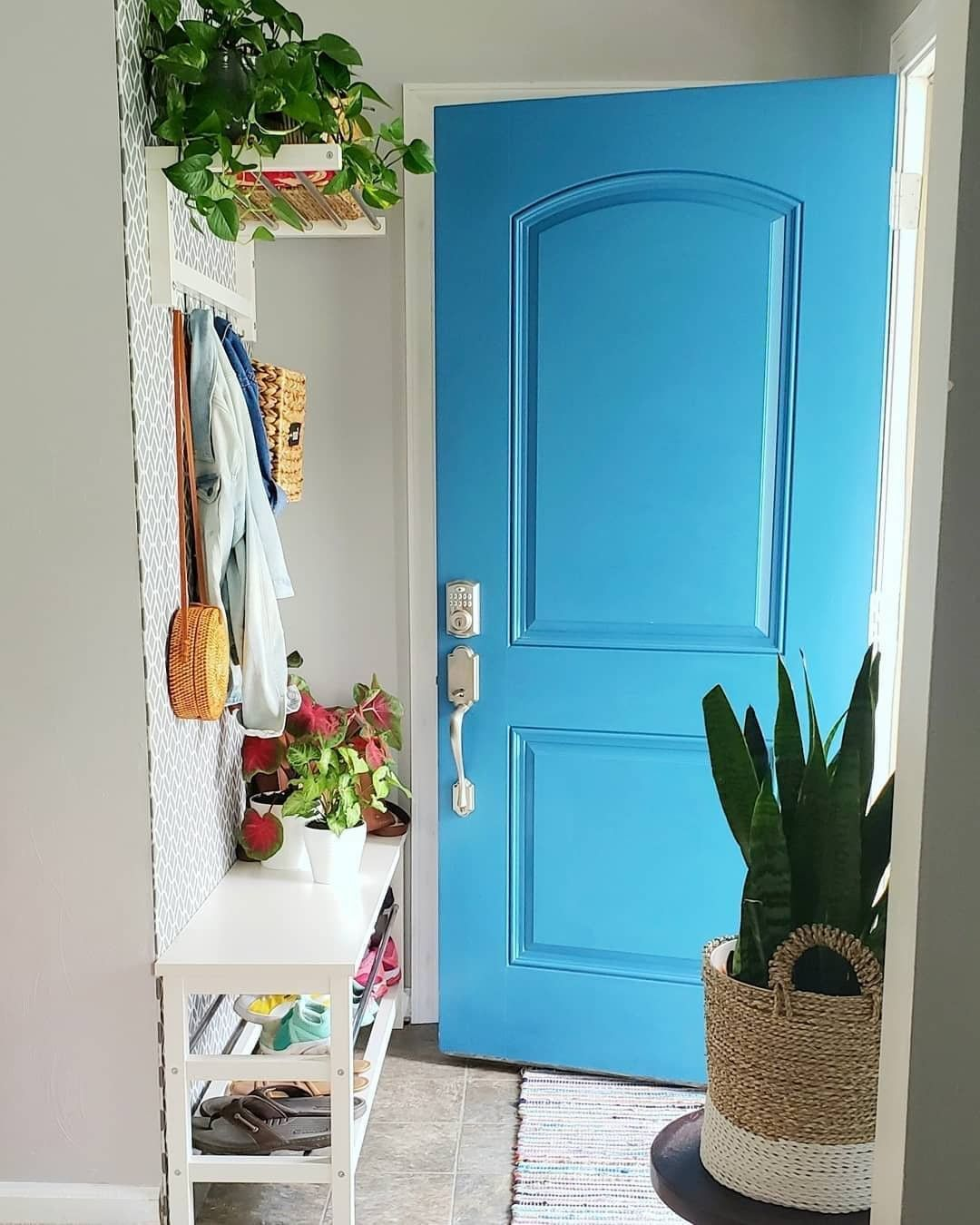 "Apartment Therapy on Instagram: ""We adore a bright door ..."
