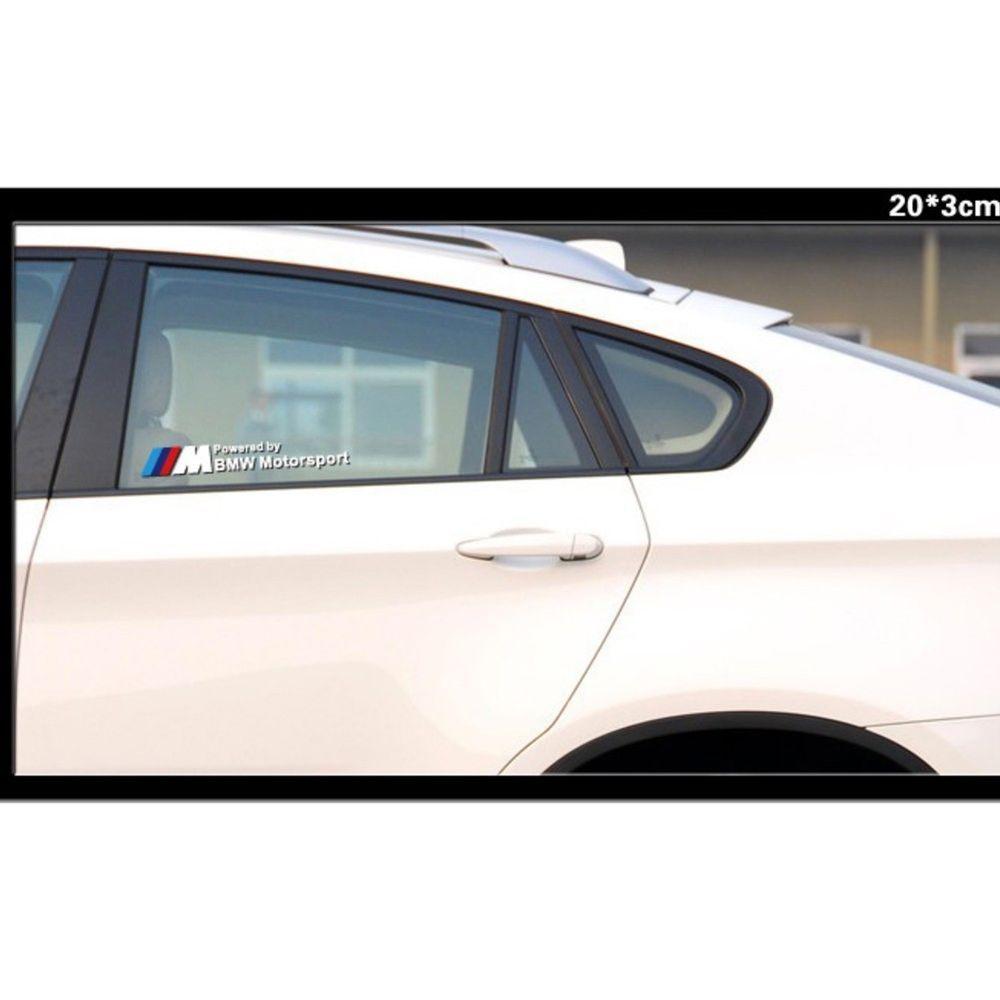 Car sticker design ebay - High Quality Vinyl Car Sticker Styling Window Decals For Bmw Motosport Ebay Motors Parts Accessories Car Truck Parts Ebay