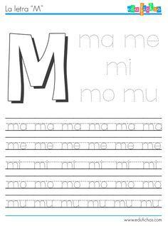 Aprender a formar sílabas con M + vocal. Hojas de trabajo gratis ...