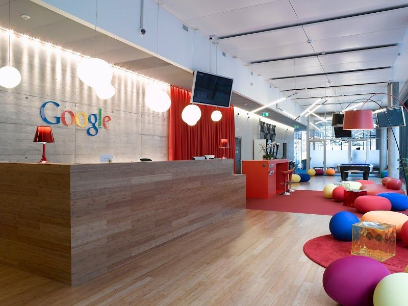 Google India Office | Modern Corporate Office Design