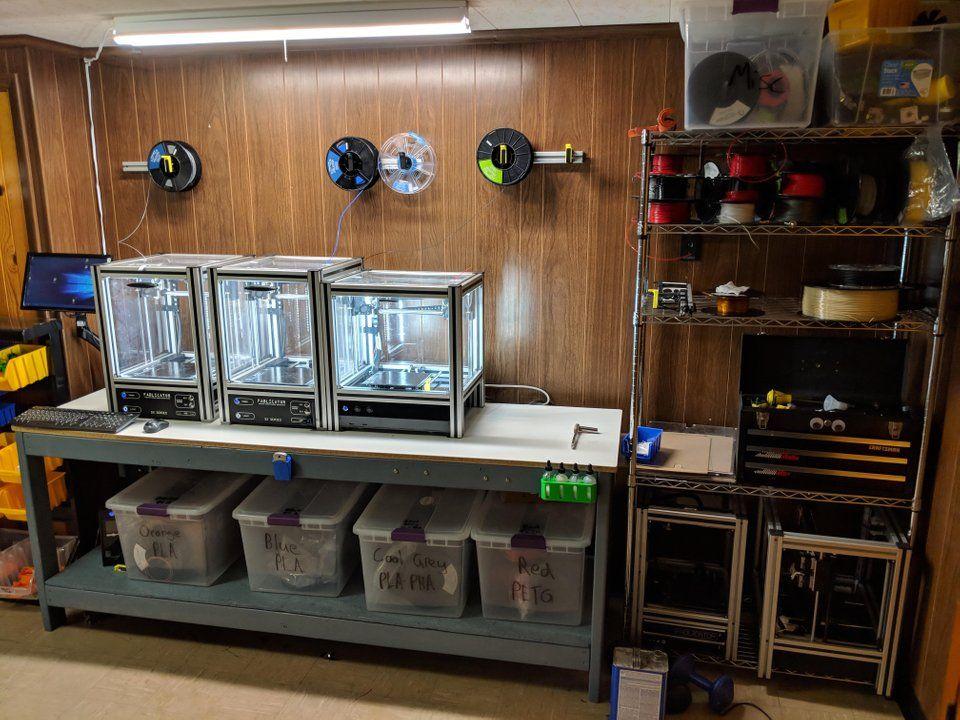 3d printer station printer station 3d printer enclosure