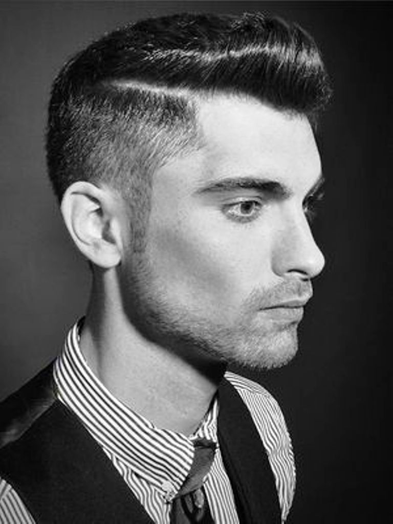 men's hair style fatherly around year 50′s : 50s hairstyles