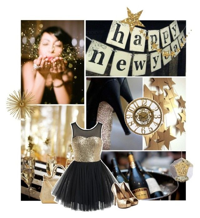"""""""Happy New Year"""" by liz-wade ❤ liked on Polyvore featuring Dolce&Gabbana, Kelly Wearstler and Infinity Instruments"""