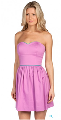 Love this cotton strapless dress for spring & summer. Flirty meets sexy. $162