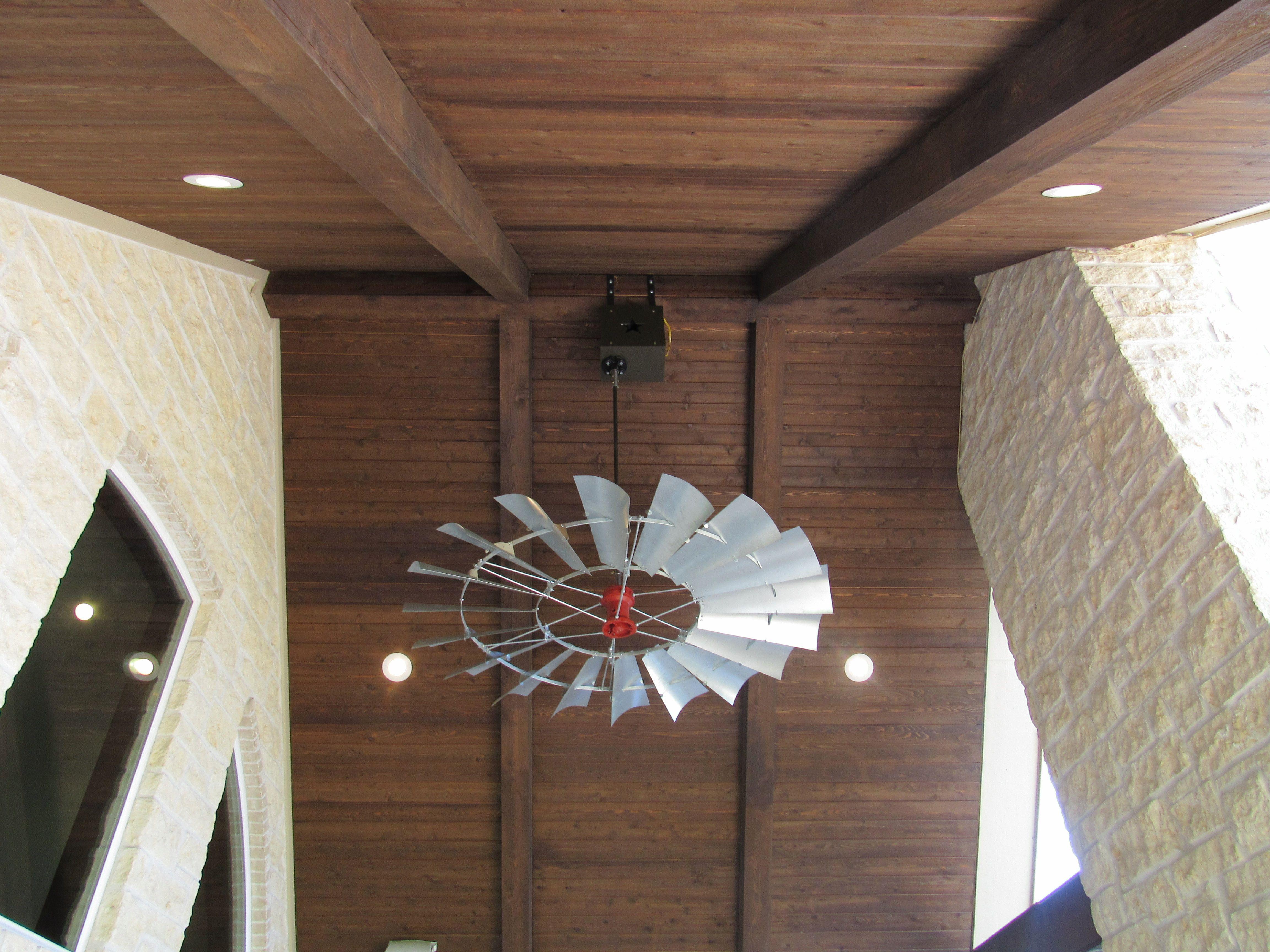 6 New Aermotor Windmill Ceiling Fan WCFTX Fans