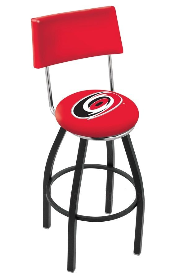 Pleasing Carolina Hurricanes Bar Stool W Back Carolina Hurricanes Bralicious Painted Fabric Chair Ideas Braliciousco