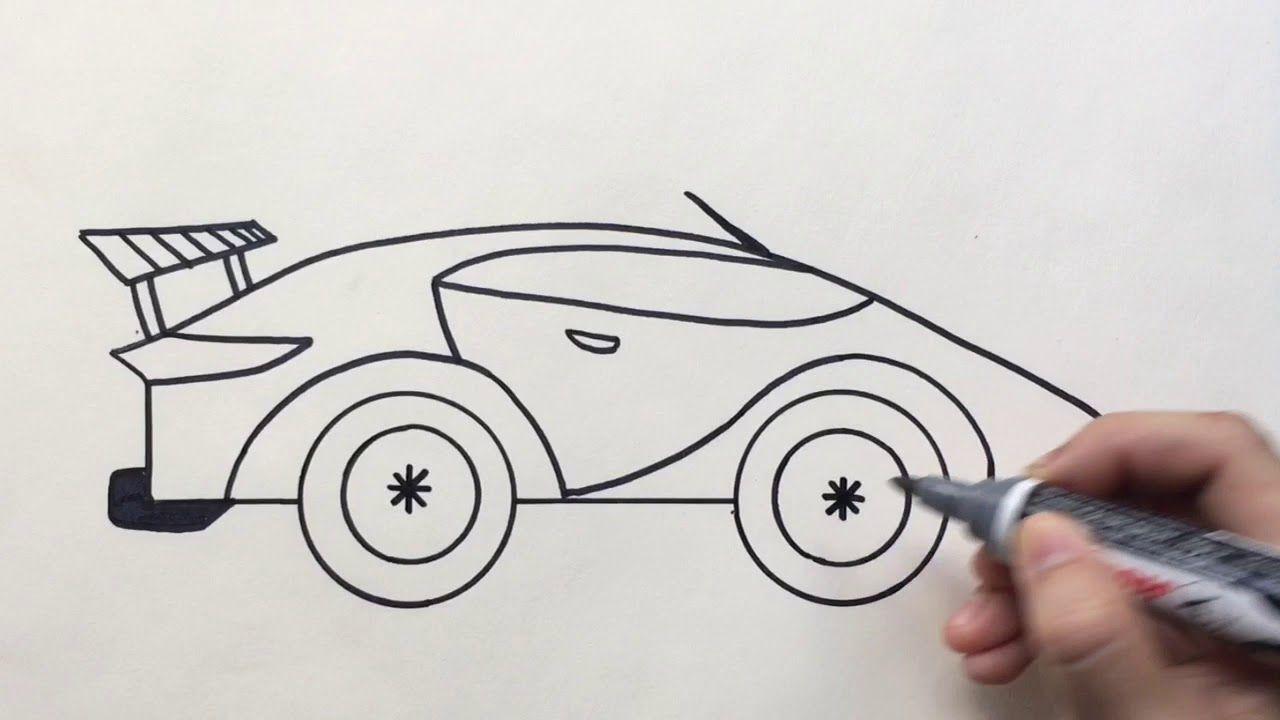 ชอบศ ลปะ Chopsilpa สอนวาดร ปรถแข ง Easy Drawing Racing Car ภาพตลก รถแข ง
