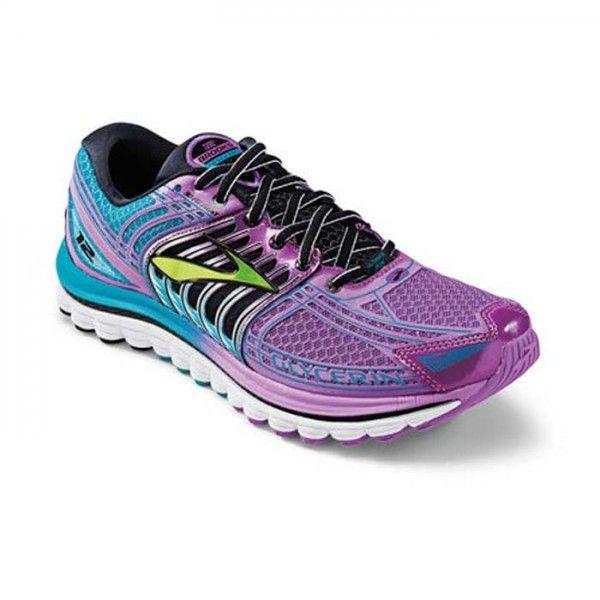 7e5c90437b70f Brooks Women s Glycerin 12 Shoes Purple Cactus Flower   Capri Breeze    Black   B