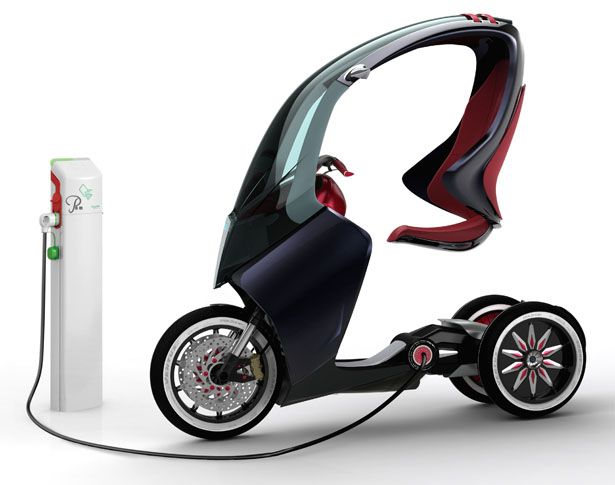 Sleek Piaggio P.A.M. (Personal Advance Mobility) for Italian Cities and Towns | Tuvie