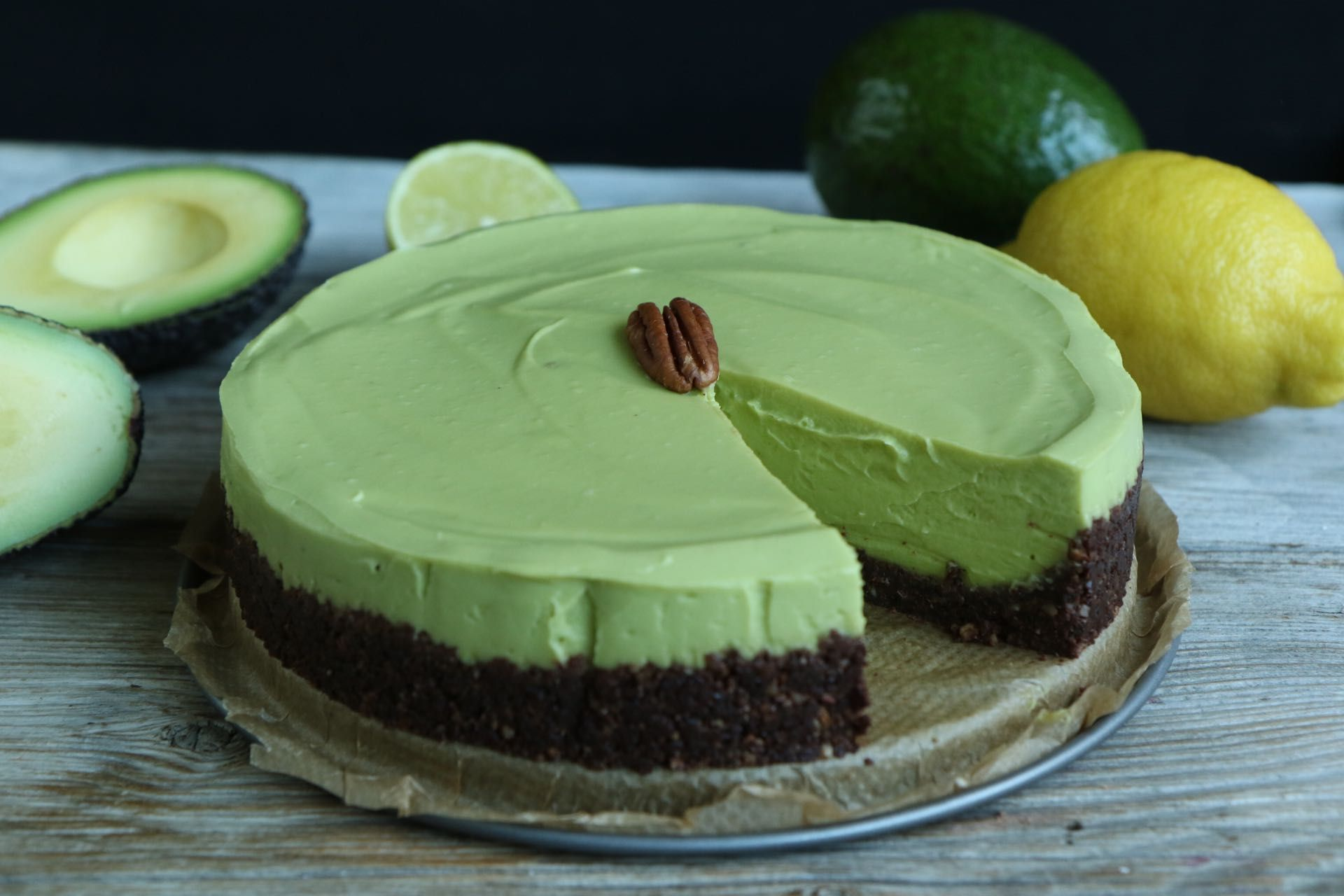 Avocado Kuchen Low Carb Avocado Cheesecake Vegan Cakes And Sweets Low Carb