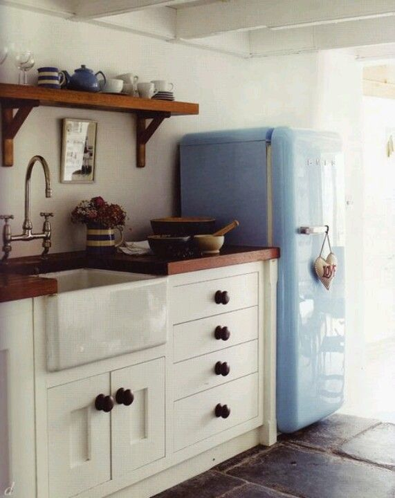 Lovely Smeg Fridge And Belfast Sink With Images Home Decor