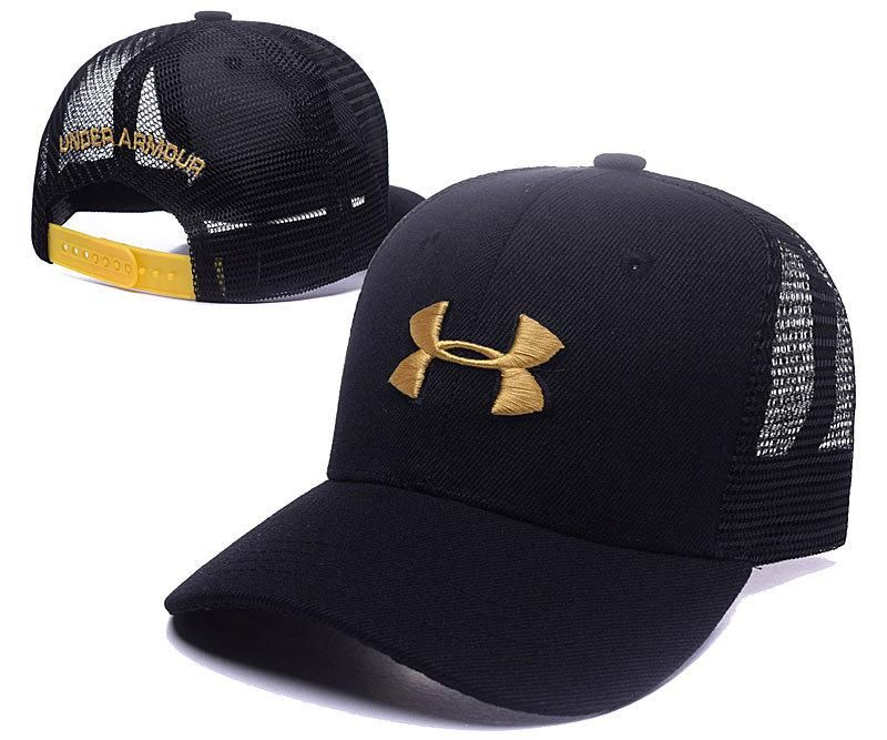 Men S Women S Unisex Under Armour The Bold Under Armour Logo Mesh Back Hockey Mesh Hat Mesh Baseball Cap Hats