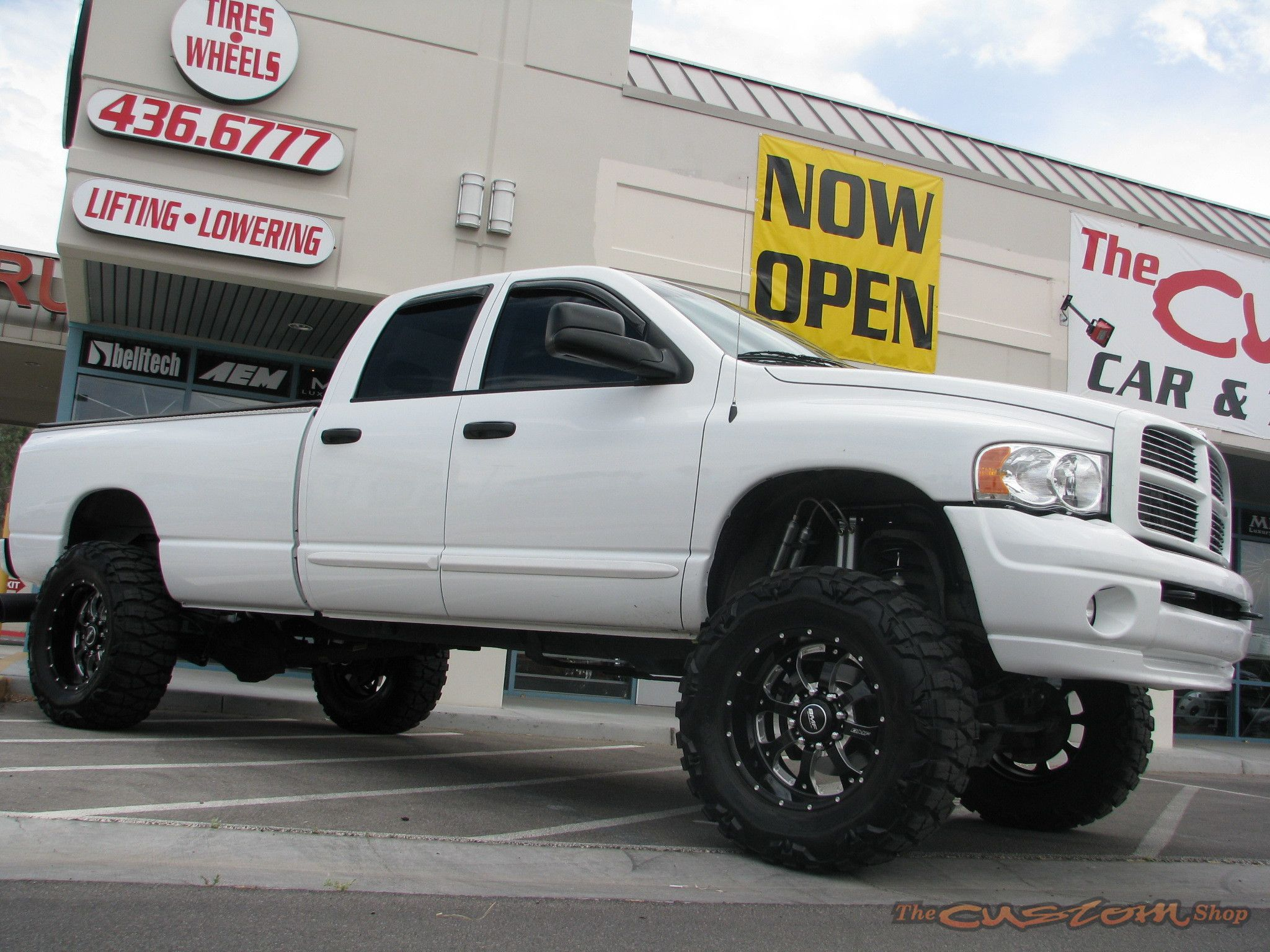 the truck is named for the ram hood ornament that first appeared on dodge vehicles in - White Dodge Ram 2500 Lifted