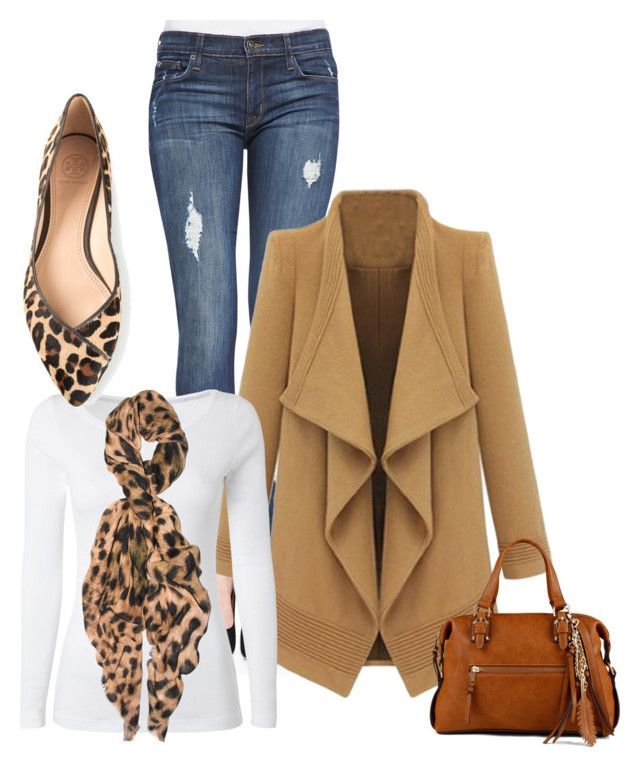 """Untitled #48"" by mkcorniel on Polyvore featuring Hudson, White Stuff, Feather & Stone, Tory Burch and ALDO"
