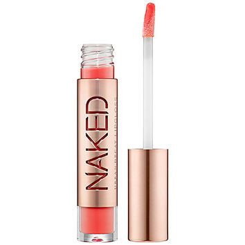 Urban Decay Naked Ultra Nourishing Lipgloss.I Love this Coral colour! Coral goes very well with red hair and pale skin.