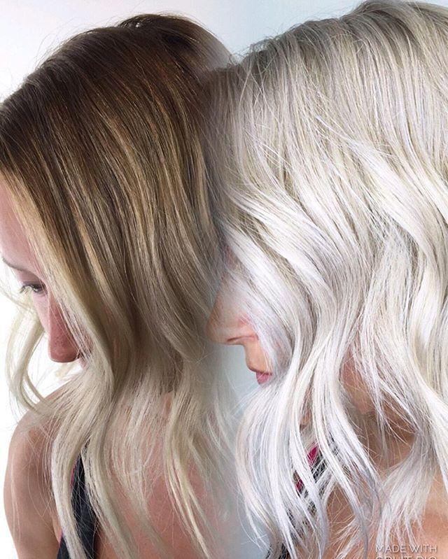 30 Volume Beach And Wella T18 Toner Vegas Hair Hair Specialist