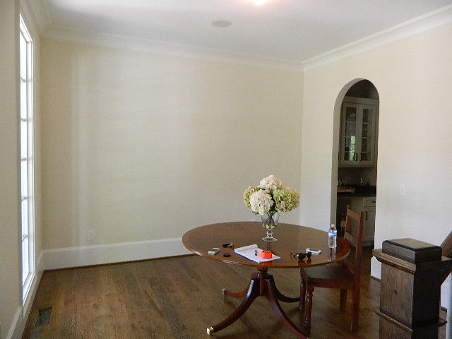 Wall Color Is Benjamin Moore S Winter Wheat And The Trim