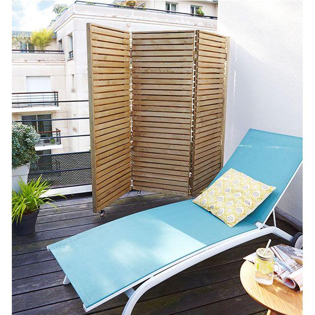 pour vous d tente en toute intimit sur votre balcon ou votre terrasse choisissez cet l gant. Black Bedroom Furniture Sets. Home Design Ideas