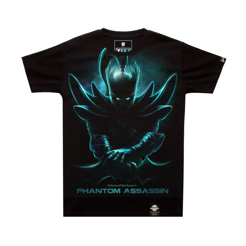 Limited Editon DOTA 2 Phantom Assassin T-shirt Darkness