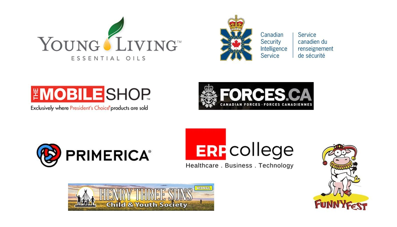 The List of Exhibitors for Calgary Job Fair on April 17th