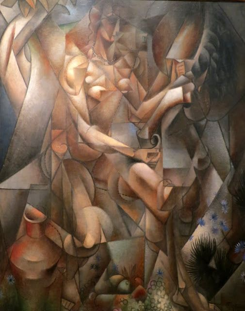 Jean Metzinger | woman with a horse jean metzinger 1912 metzinger s first cubist works ...