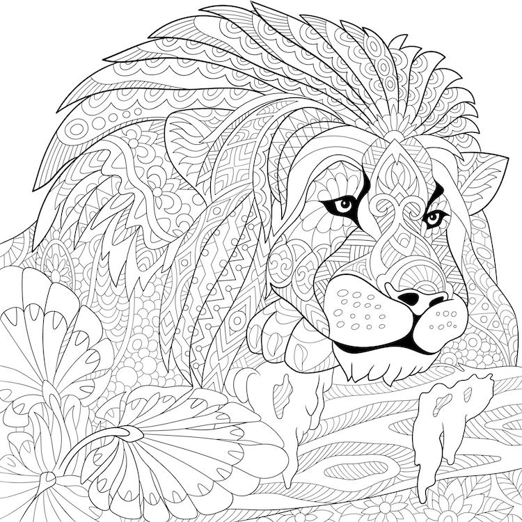 New Trend Has Adults Filling Drawings With Calming Patterns Instead Of Just Coloring Them In