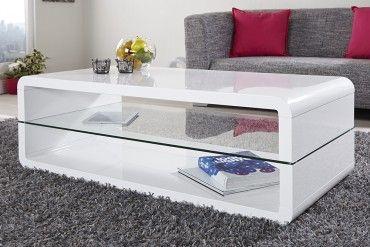 exclusiver design couchtisch formula hochglanz weiss tisch glas couchtisch truhe tisch und
