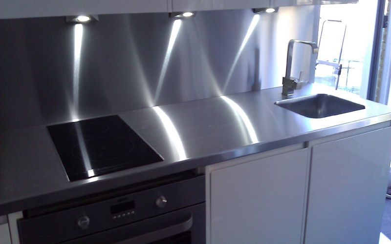 Commercial · Custom Made Stainless Steel Kitchen Worktops ...
