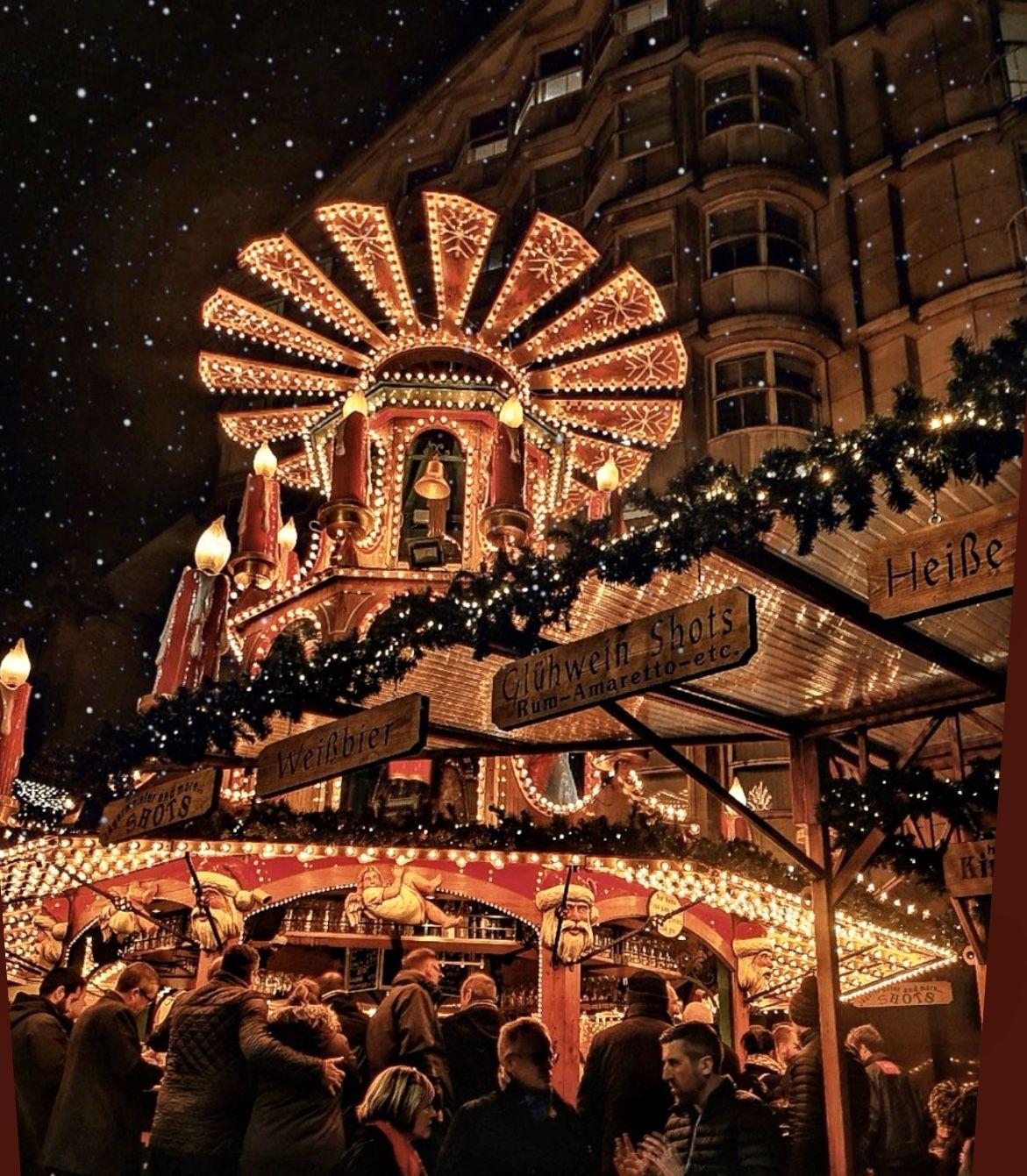 The German Christmas market 2019. BIRMINGHAM in 2020