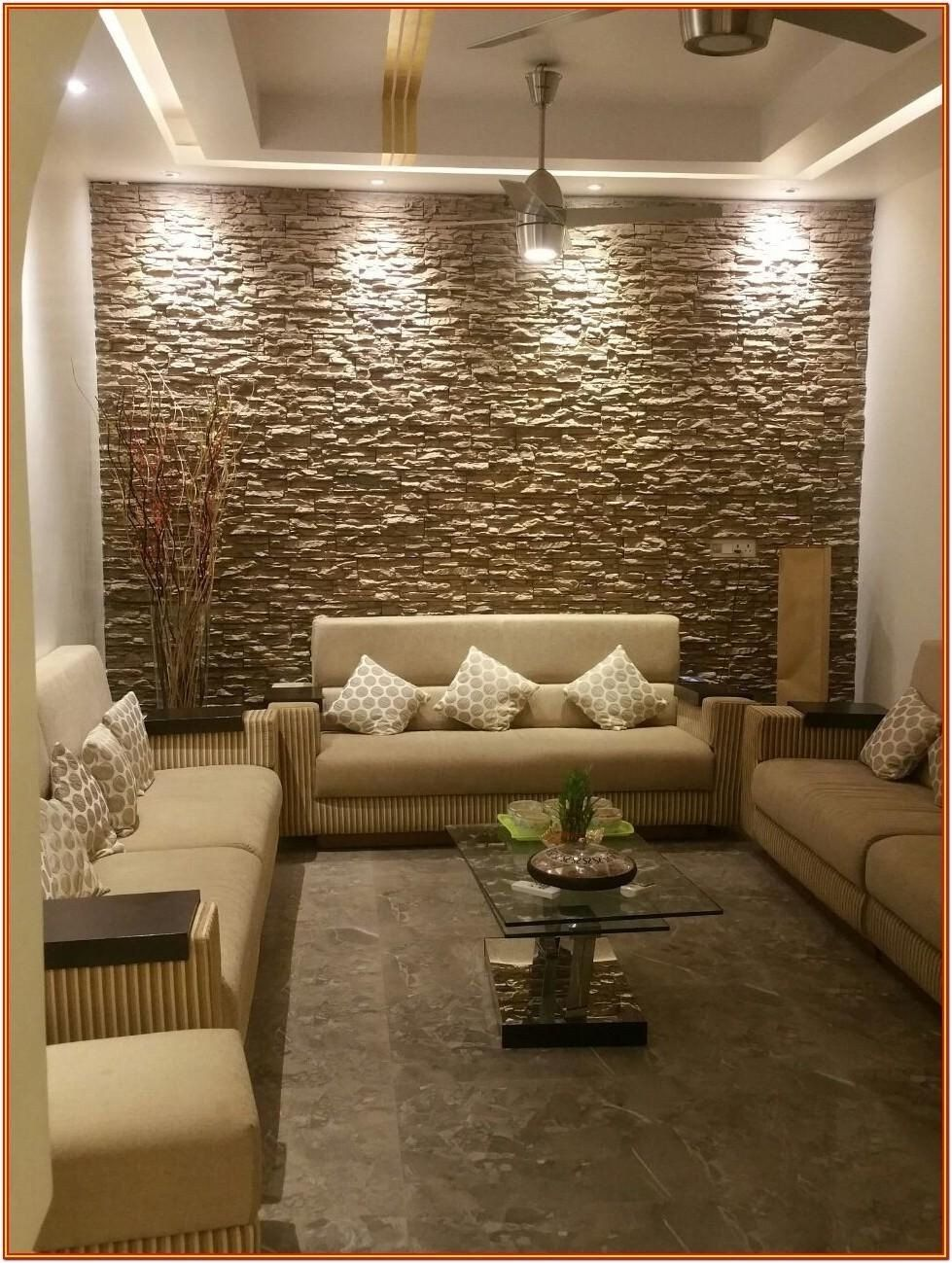 Interior Wall Designs For Living Room Decorative Wall Tiles Living Room India By Lori In 2020 Stone Wall Interior Design Interior Wall Design Living Room Design Modern