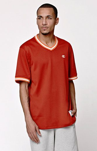 deb922db0ed5 Rock a red mesh t-shirt any day of the week. #ChampionLife ...