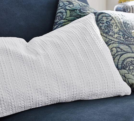 Pottery Barn Nest Pillow: Honeycomb Lumbar Pillow Covers In 2019