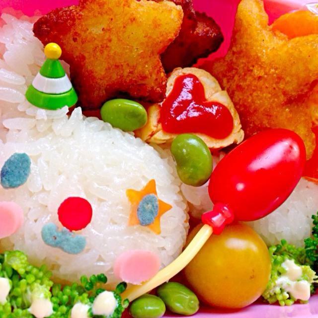 """先日DVDを借りたシッポがまるでシナモンロールのようにくるくる巻いているので、""""シナモン""""という名前の子犬。 まだ尻尾見た事無いw お鼻無いけど付けたら違うキャラっぽくなっちゃった  ☆塩おむすび☆チキンカツ☆ポテト☆枝豆☆アフォーラマンダリン☆ - 72件のもぐもぐ - Lunch BoxCinnamoroll's clown☆シナモロールのピエロ by Ami"""