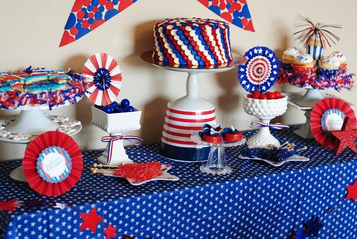 Southern Blue Celebrations FOURTH OF JULY PARTY IDEAS INSPIRATIONS