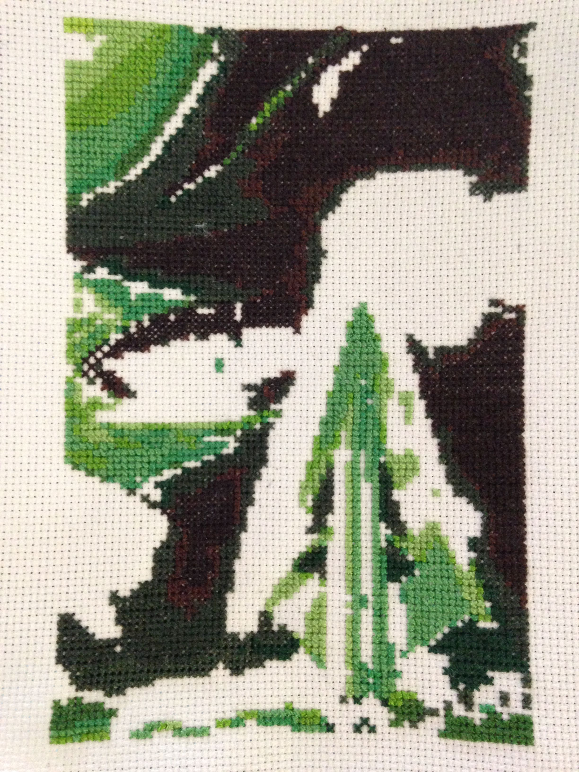 green arrow 4x6 cross stitch book covers typography in 2018