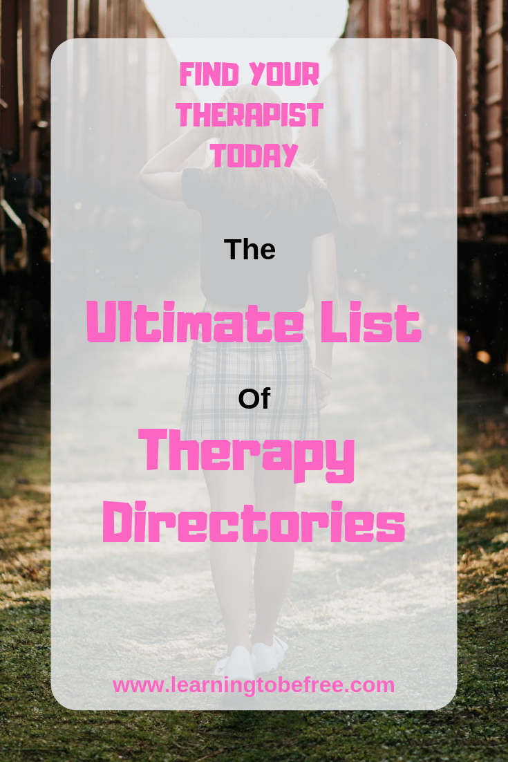 The Ultimate List of Therapy Directories   Online therapy ...
