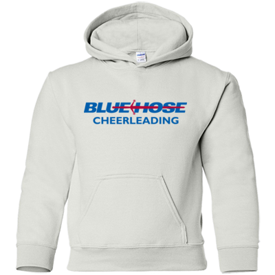 Blue Hose cheerleading sweatshirt