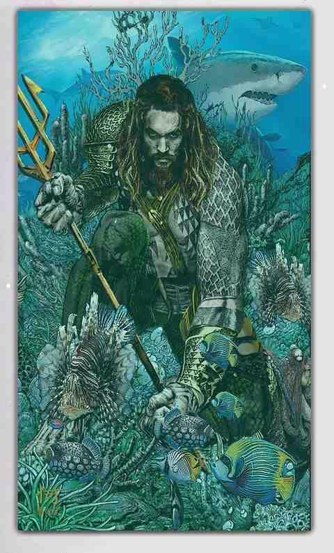 Jason Momoa Aquaman | DC Comics - Aquaman | Aquaman ...