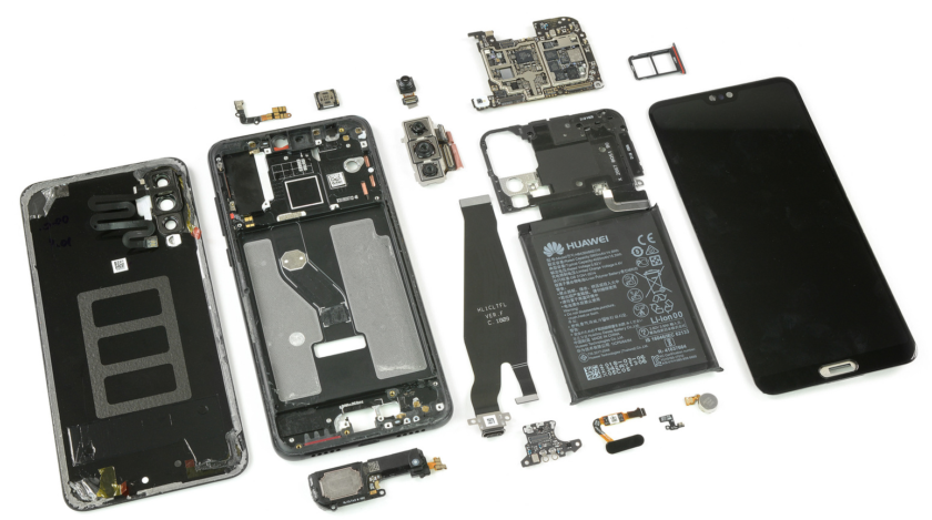 Ifixit Teardown Reveals Unique Camera Setup For Huawei P20 Pro Google Android Smartphones Os News Androidnews Follow Us On Twi Ifixit Huawei Leica Camera