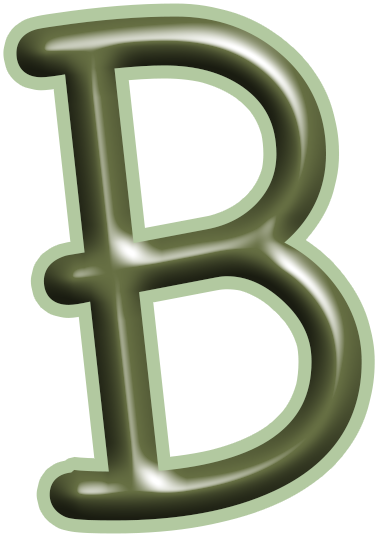 Alphabets Lindos: Alphabet in green letters PNG