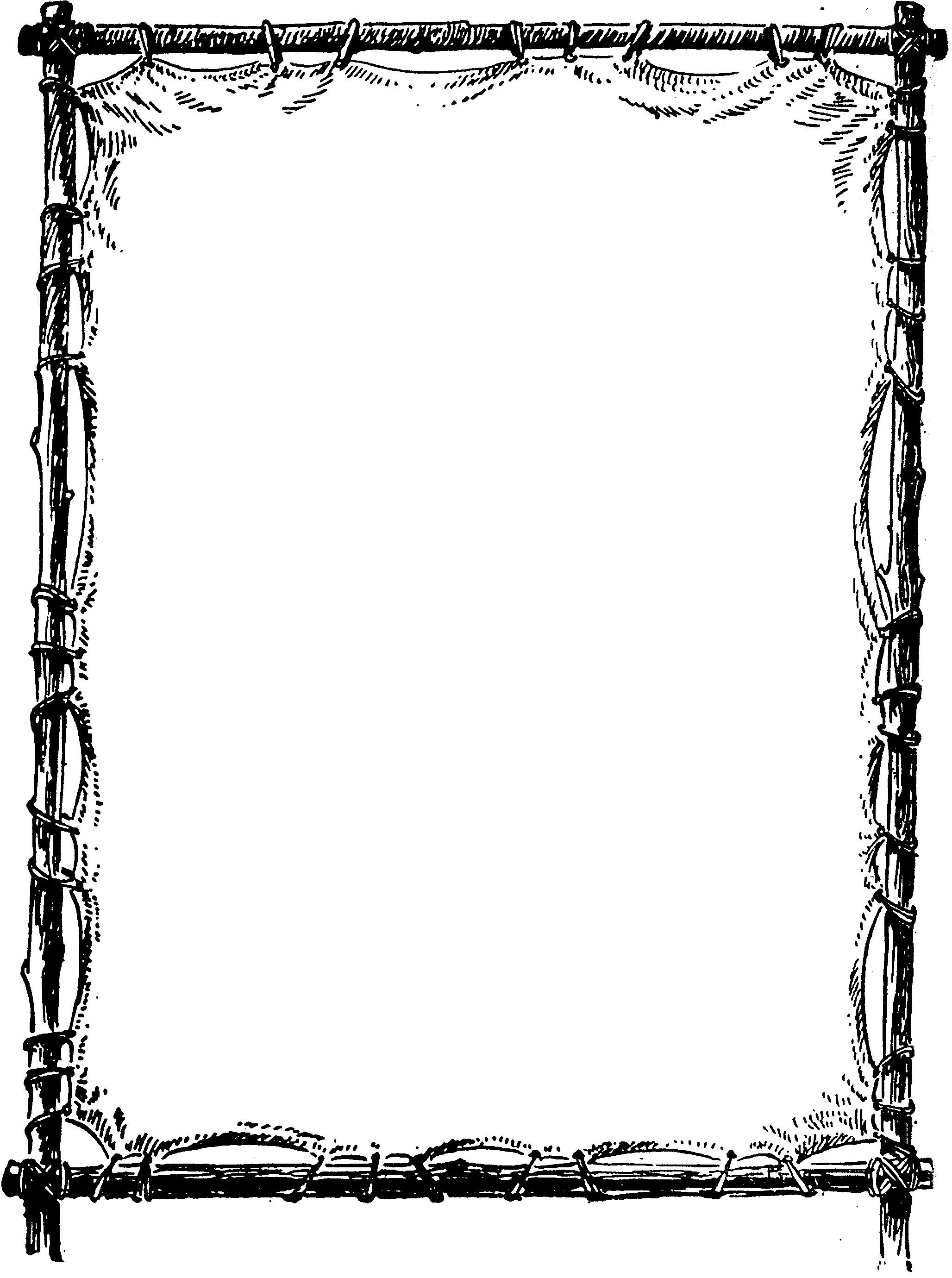 microsoft word microsoft office clip art borders formal page borders apple border clip art  [ 2056 x 2760 Pixel ]