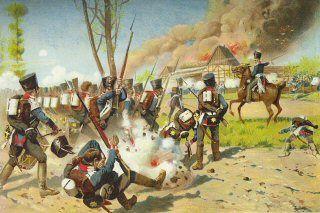 Das Erste Garde Regiment bi Gross Gorschen 2nd Mai 1813 by R Knotel