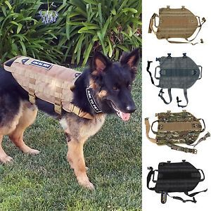 Details about Tactical K9 Dog Molle USA MILSPEC Velcro