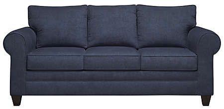fbfa1ac607a Saxon Navy Sofa - Art Van Furniture