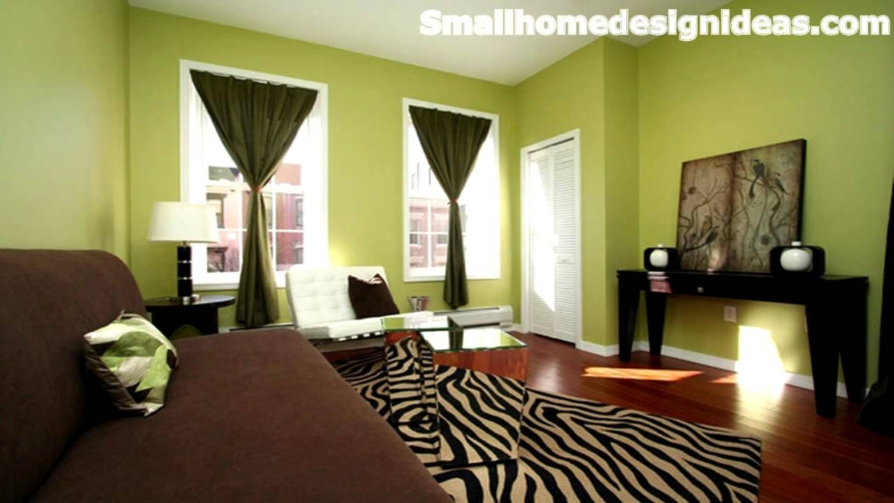 100 Paint Color Combinations for Small Living